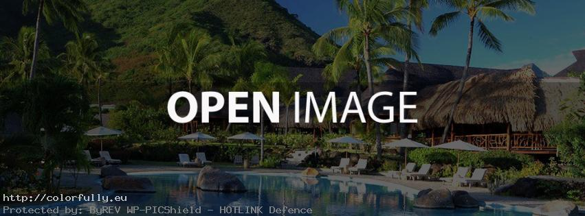 Tropical holiday – Facebook cover