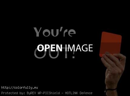 You are out – red card!