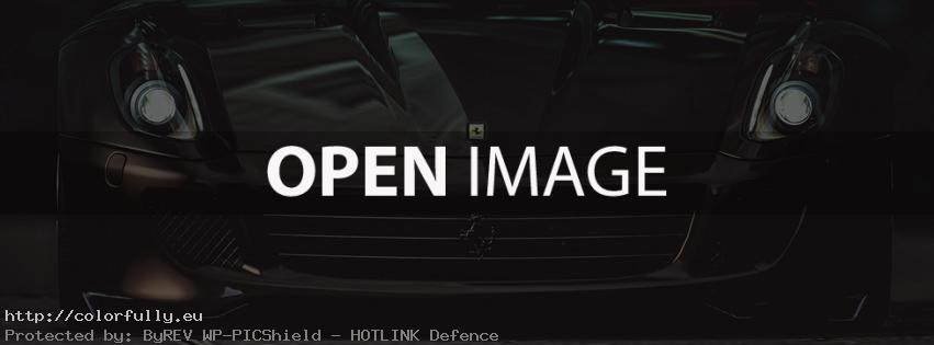 Black Ferrari – Facebook cover