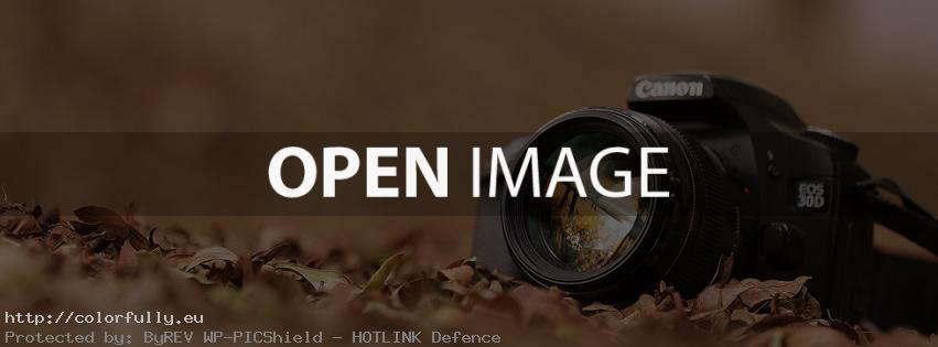 Canon camera – Facebook cover