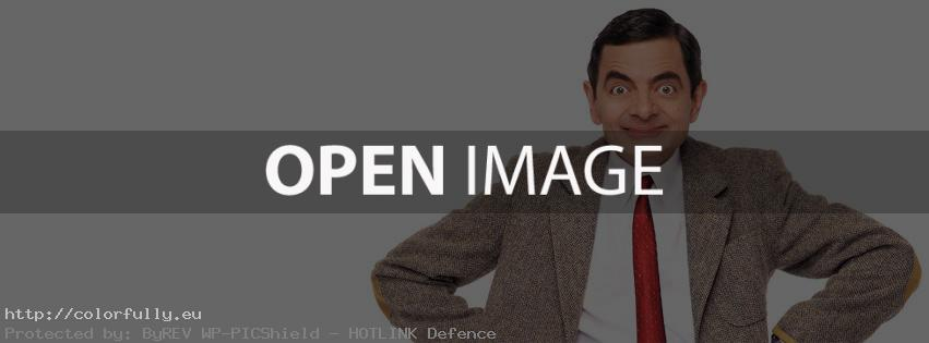 Mr. Bean – Facebook cover
