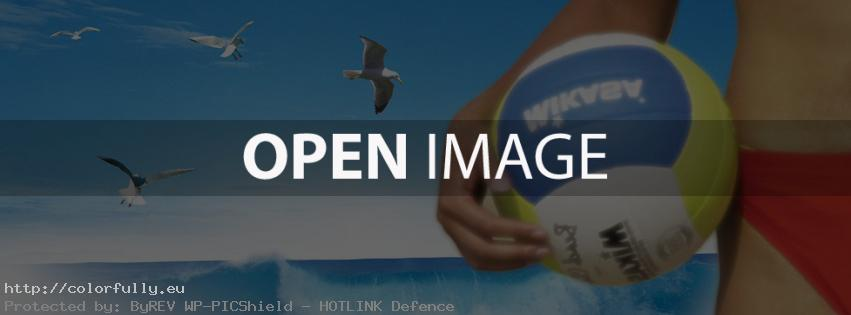 Summer – Beach – Volleyball – Facebook cover