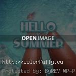 hello summer tanned legs 150x150 Best 5 Hello summer image quotes