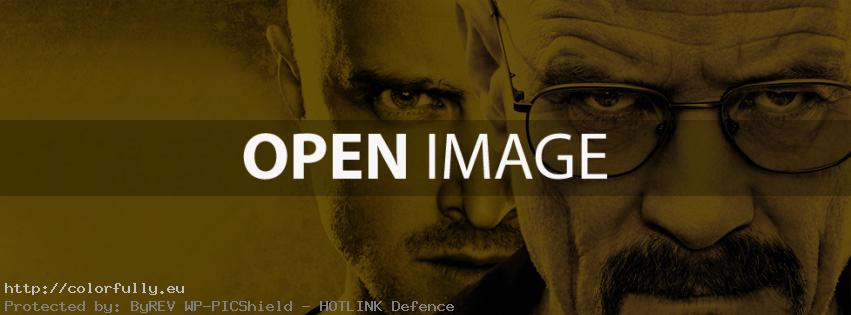 Breaking bad - Facebook cover