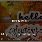 hello September autumn 150x150 Hello September quotes images