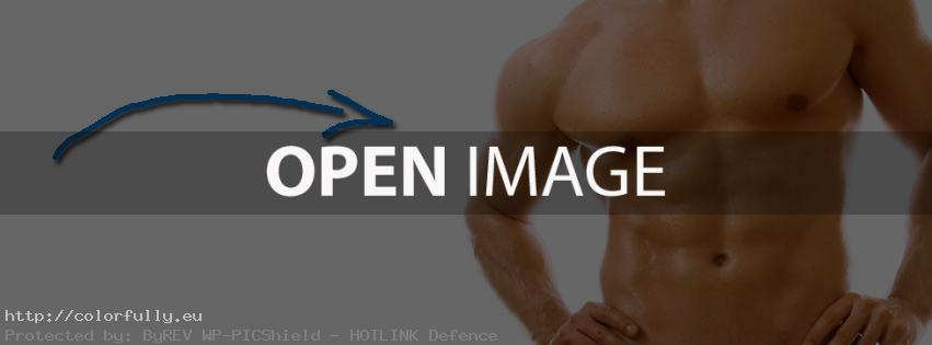 My abs – Facebook cover