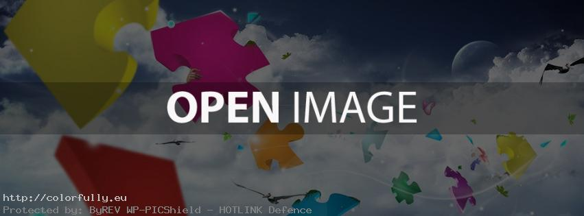 Puzzle pieces – Facebook cover
