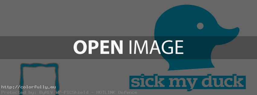 Sick my duck – Facebook cover