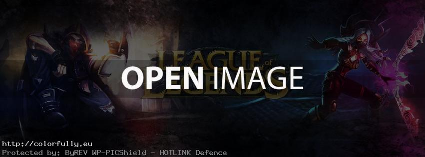 League of Legends – Facebook cover