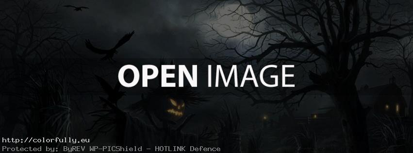 Dark Halloween – Facebook cover