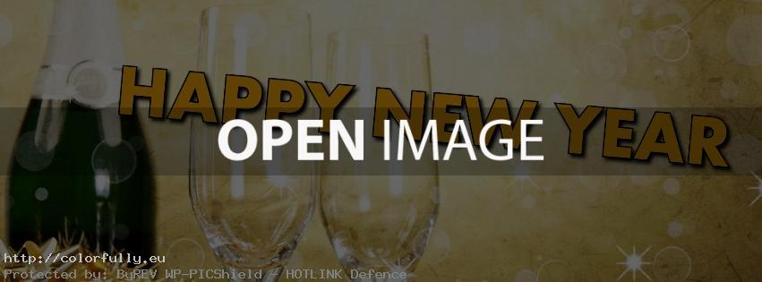 2014 New Year Facebook timeline cover