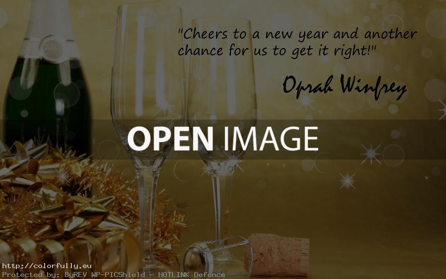 Cheers to a new year….