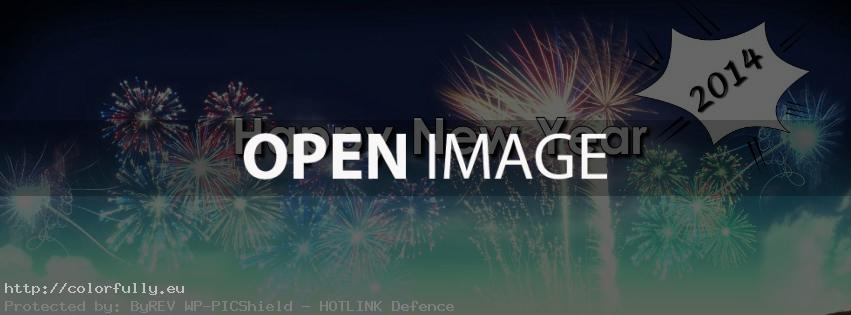 Happy New year 2014 – Facebook cover
