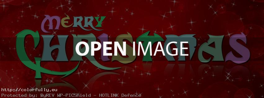 Colorfully free facebook covers merry christmas cover for Christmas pictures for facebook wall