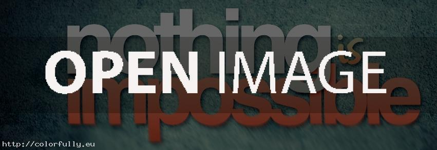 Nothing is impossible – Facebook cover