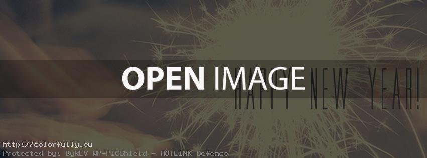 Happy New Year – Facebook cover