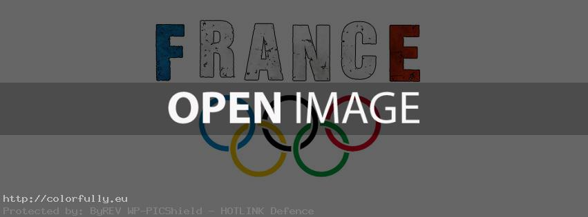 Support France Olympics – Facebook cover