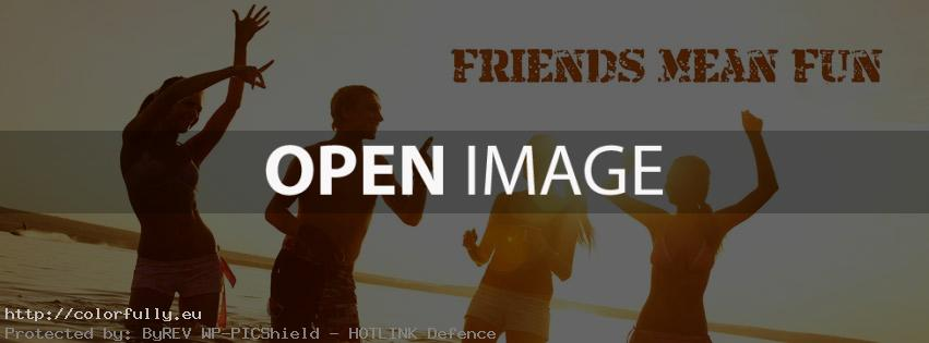 friends facebook cover