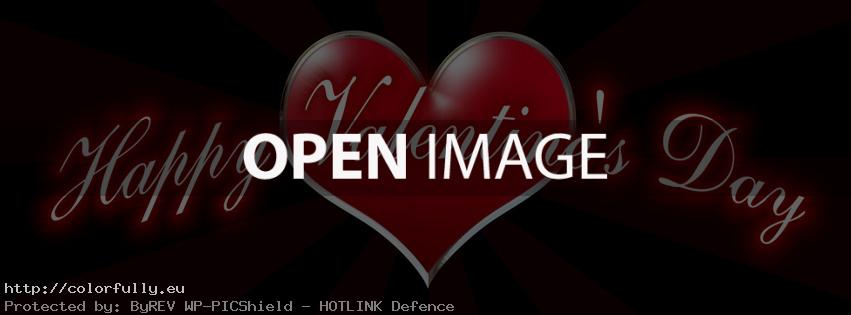Happy Valentines Day – Facebook cover