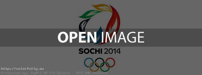 Sochi Winter Olympics 2014 – Facebook cover