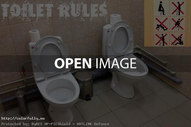 Sochi twin toilet rules!
