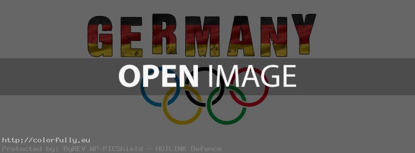 support germany olympics