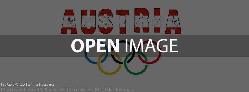 Support Austria Olympics – Facebook cover