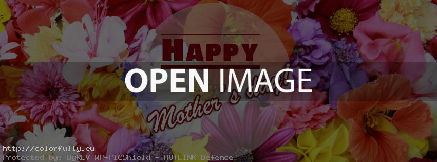 Happy Mother's Day – Facebook cover