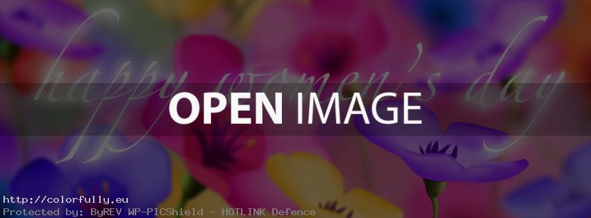 Colorfully » Free Facebook Covers » Happy Women\'s day – Facebook cover