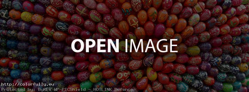 easter eggs facebook cover