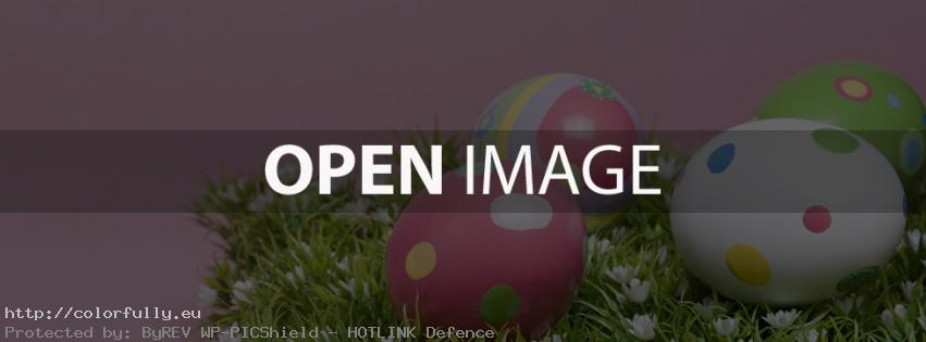 Easter eggs – Facebook cover