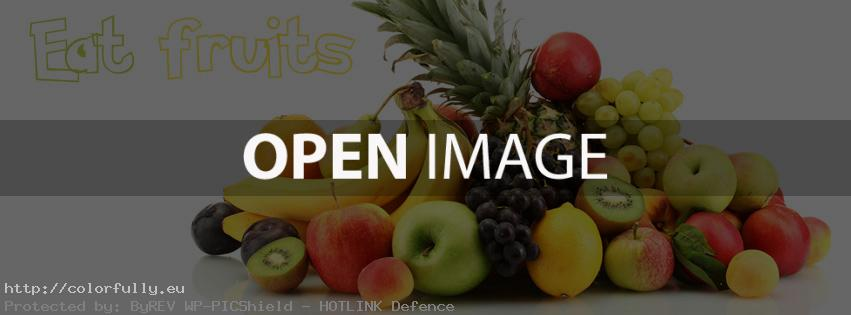 fruits facebook cover
