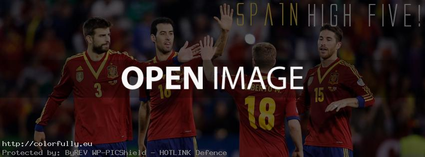 Spain High Five – Facebook cover