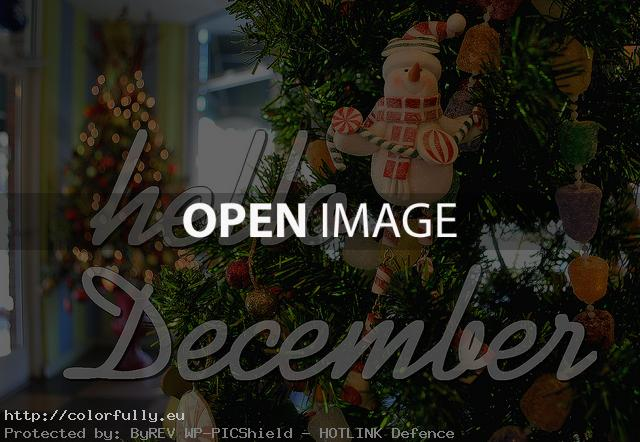Hello December quote image