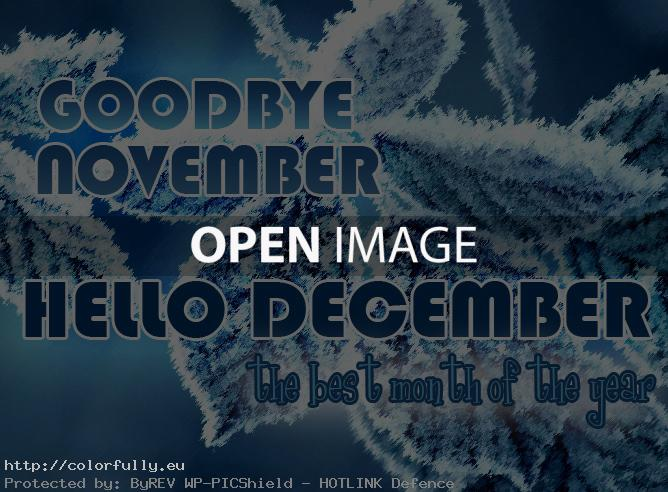 hello december best month