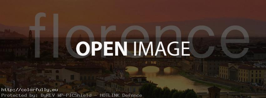 Welcome to Florence – Facebook cover