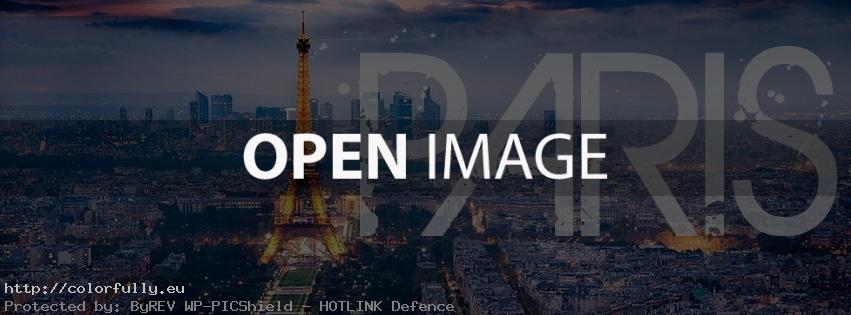 Welcome to Paris – Facebook cover
