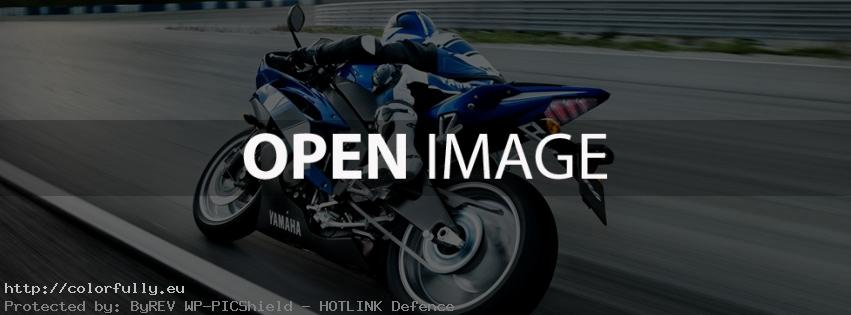 Yamaha Motorcycle – Facebook cover
