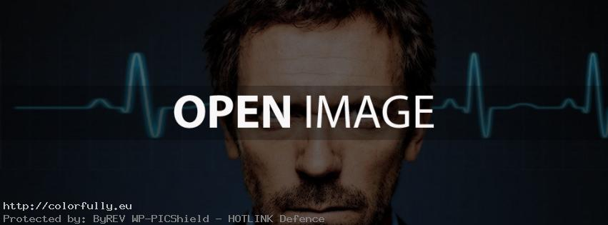 Dr. House – Facebook cover