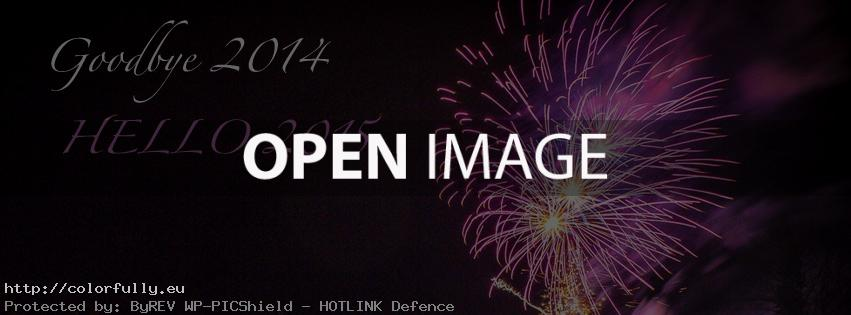 goodbye 2014 hello 2015 fb cover