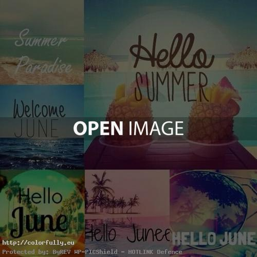 Hello June Summer mix