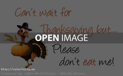 please dont eat me turkey Cant wait for Thanksgiving day   facebook images