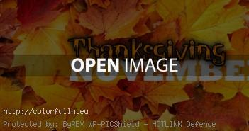 thanksgiving november fb cover