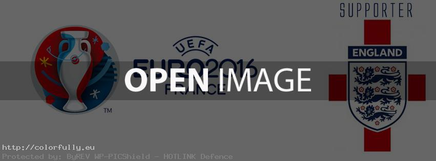 England supporter Euro 2016 - Facebook cover