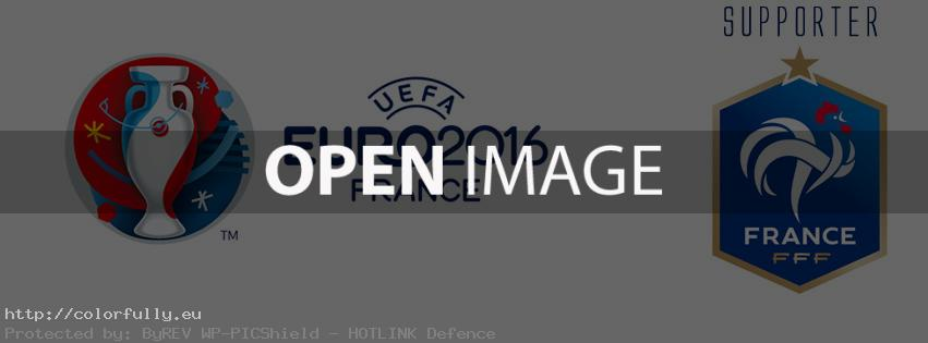 France supporter Euro 2016 - Facebook cover