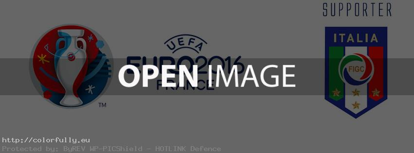Italy Supporter Euro 2016 - Facebook cover