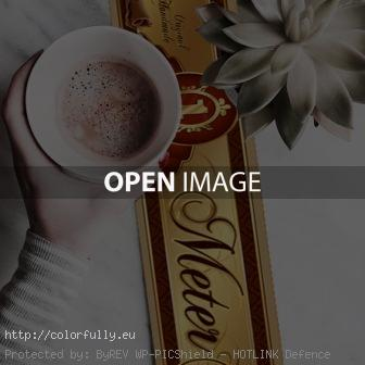 coffee and 1 meter chocolate