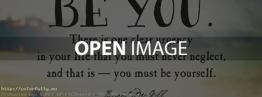 Be you quote