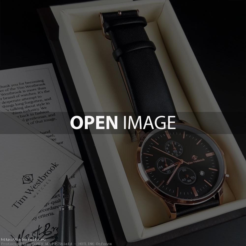watch gift Why does a Tim Westbrook watch make the perfect gift?